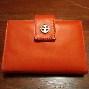 Giani Bernini Marble Genuine leather